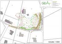 Plan technique pour permis d'urbanisme à Chaumont-Gistoux dans le Brabant Wallon
