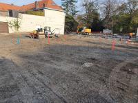 Implantation pour le projet de la nouvelle Place de Templeuve (Tournai)
